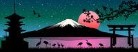 Mount Fuji Japanese landscape