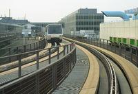 Train between Frankfurt airport terminals
