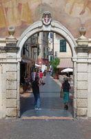 City gate Noli - Liguria - Italy