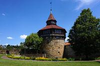 castle in Esslingen at the river Neckar