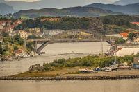 Bridge Across The Harbour,  Stavanger  Norway