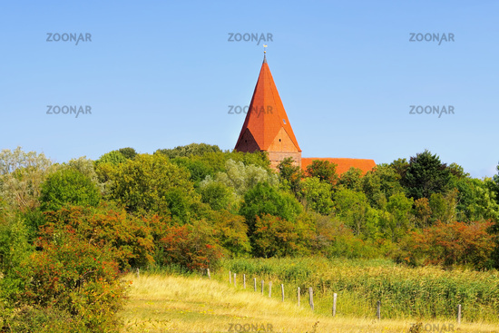 Kirchdorf Dorfkirche auf Poel - the old church in Kirchdorf on the island of Poel in northern Germany