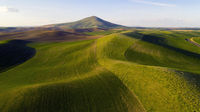 Long Shadows at Steptoe Butte Palouse Region Sunset