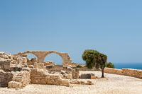 Ruins of ancient greek town Kourion on Cyprus