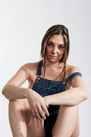 Portrait of a confident young woman.