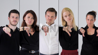 business team portrait business team portrait