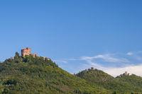 Blick auf Trifels, Anebos und Scharfenberg