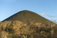 Volcanic cone, Floreana  Island, Galapagos Islands, Ecuador