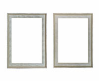 blank picture frame isolated