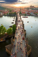 View on Charles Bridge