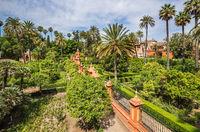 Alcazar Palace in Sevilla. Spain