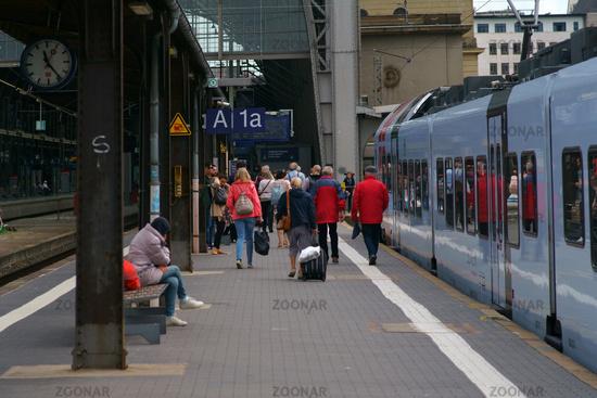 Track 1a Frankfurt central station