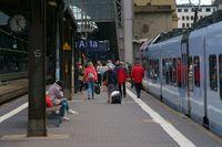 Gleis 1a Frankfurt Hauptbahnhof