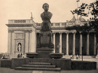 Pushkin monument in Odessa