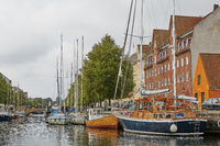 Canal Tour: beautiful view on Copenhagen water front. Canal Tours Copenhagen is a wonderful way of s