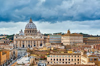 St. Peter's cathedral in Vatican