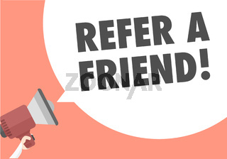 Megaphone Refer A Friend