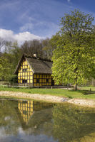 German half-timbered house