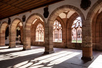 Cloister at the Cathedral of Basel, Switzerland