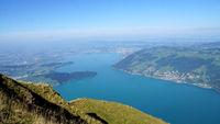 The Lake Zug in the Switzerland