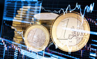 Fluctuating course of the euro