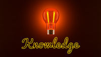 Light Bulb and Knowledge