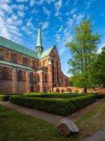 Blick auf das Münster in Bad Doberan