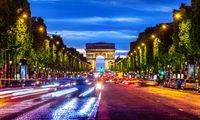 Illuminated Champs Elysee