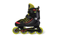 Inline skates. Isolated over white