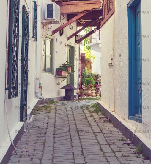 Old street in Turkey