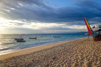 Beach at sunset, Nusa Lembongan island, Bali, Indonesia
