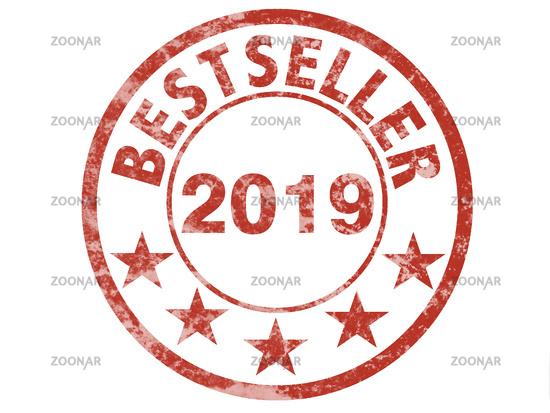 label for bestseller 2019