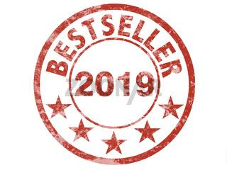 Stempel mit Bestseller 2019