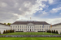 Berlin Germany, city skyline at Bellevue Palace