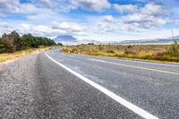 Landscape scenery in south New Zealand