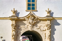 The 4rd Gate of the Citadel Alba-Carolina in Alba Iulia, Romania, officially declared Capital of the Great Union of Romania