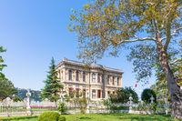 Kucuksu Palace, a summer palace in Istanbul, Turkey