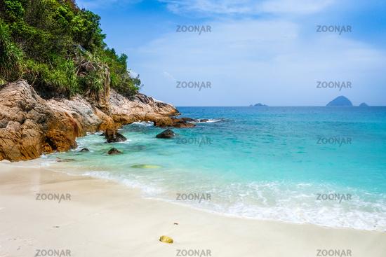 Romantic beach, Perhentian Islands, Terengganu, Malaysia