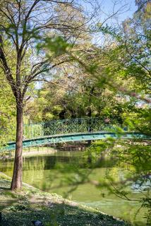 Public Garden Lake Bridge