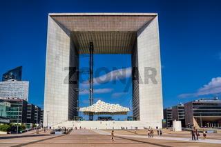 Grande Arche in Paris, Frankreich