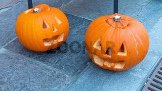 Carved Pumpkins Street