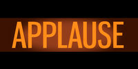 Retro TV Studio Applause Sign