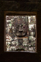 Face of Buddha in Bayon temple