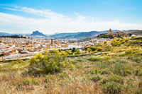 Ancient city Antequera in the center of Andalusia