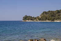 Zlatni peninsula near Rovinj