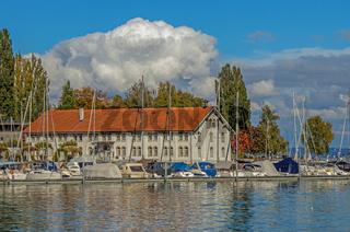 Hafen und Museum Altes Zollhaus,  Romanshorn, Kanton Thurgau, Schweiz
