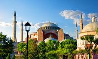 Hagia Sophia at sunny day