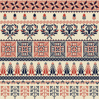 Palestinian embroidery pattern 30