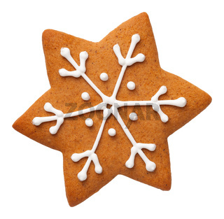 Gingerbread Star