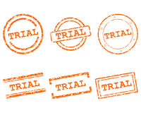 Trial Stempel - Trial stamps